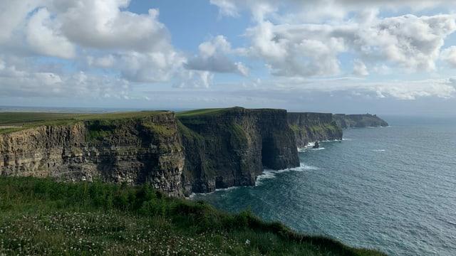Klippen von Moher, Lislorkan Nord, Grafschaft Clare, Irland