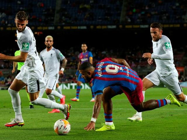 Barcelonas neues Sturmjuwel Memphis Depay.