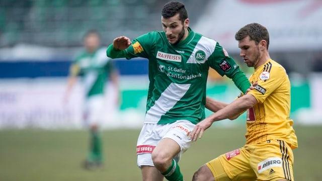 St. Gallens Mikael Ishak fällt bis Ende April aus.