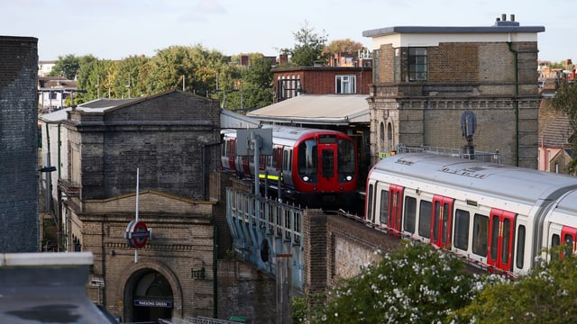 Ina staziun da metro a Londra