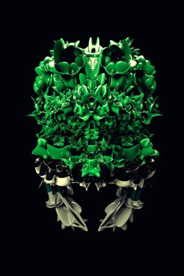 Werke von 3D Designer Stefan Künzler