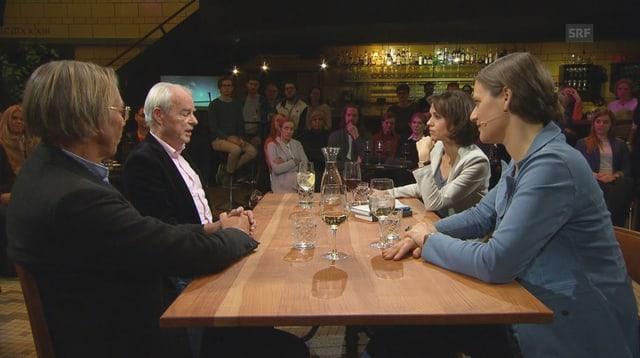 Video «Der Philosophische Stammtisch: Ist die Zukunft konservativ?» abspielen