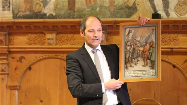 Innerrhoder Landamman Daniel Fässler
