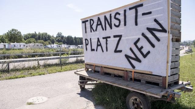 Kontroverse um fixen Transitplatz