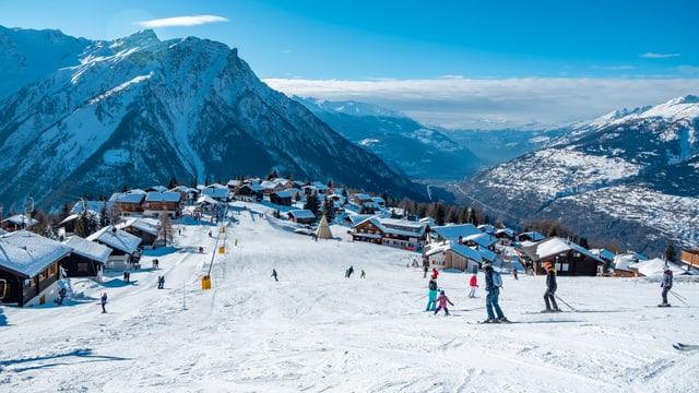 Das Skigebiet Rosswald.