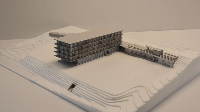 Visualisaziun Hotel Flaz a Puntraschigna.