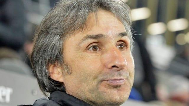 Beim Spiel gegen Thun letzte Woche: FCL-Trainer Ryszard Komornicki