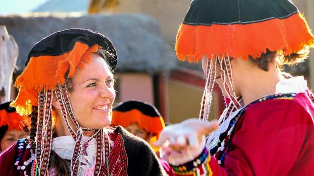 Video «Der «Jobtausch» in Peru und der Schweiz: Die Schneider» abspielen