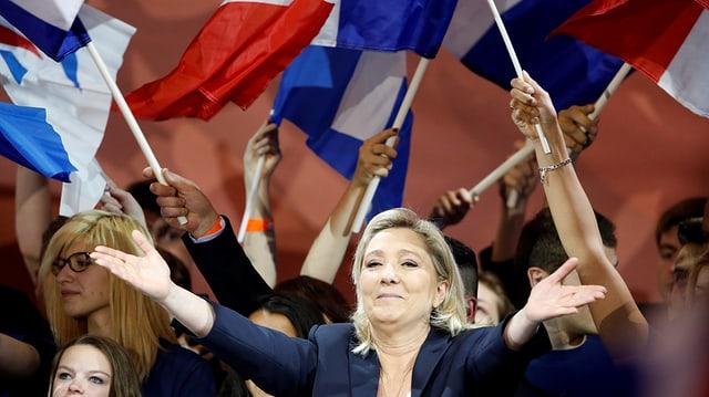 Marine Le Pen vor französischen Fallgen