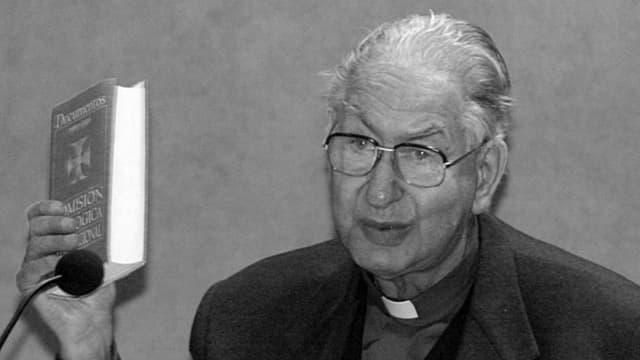 Il cardinal svizzer Georges Cottier.