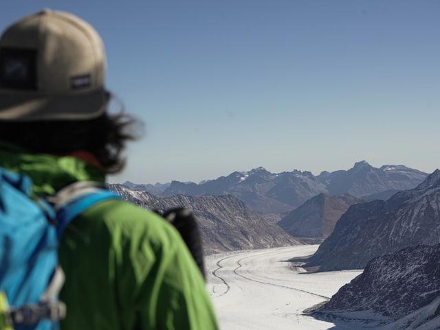 Aussicht Jungfraujoch.