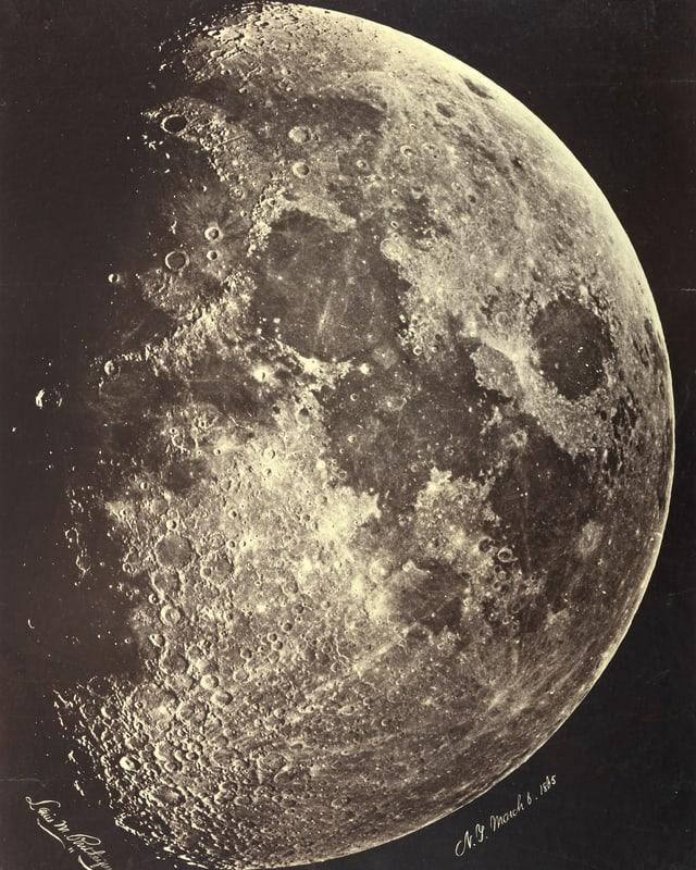Bild des Mondes.