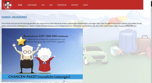 Screenshot Schweiz macht mit