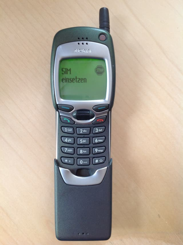Nokia 7110. Erstes Wap Handy. Funktioniert bestens