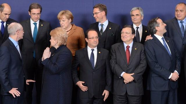 EU-Staats- und Regierungschefs.