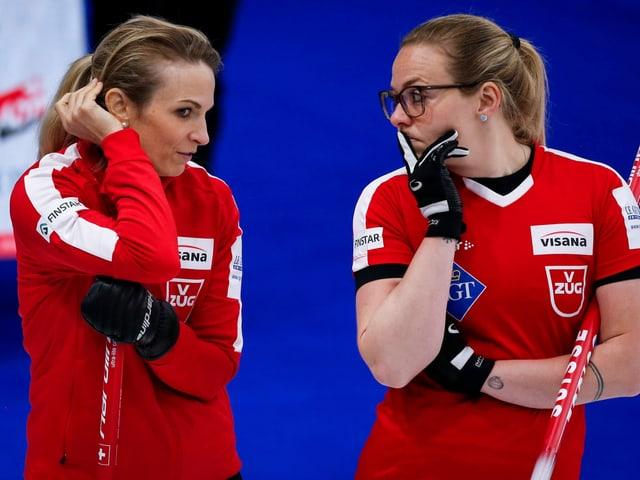 Silvana Tirinzoni und Alina Pätz