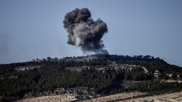 Türkischer Luftangriff auf Afrin