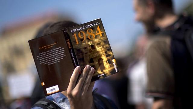 Heute genauso aktuell wie zu Orwells Lebzeiten: «1984».