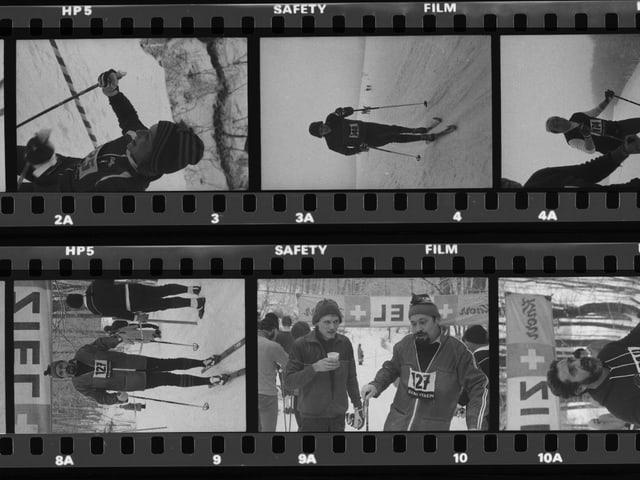 Ski-Randenlauf mit Start und Ziel beim Siblinger Randenhaus (1982).