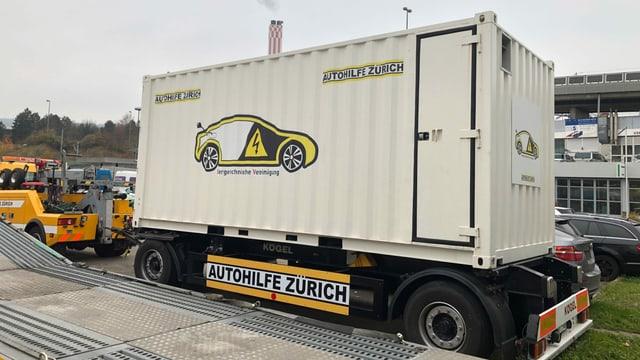 Die «Firebox» der Autohilfe Zürich.