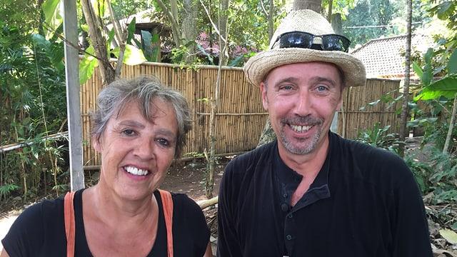 Romano und Patricia nehmen von Bali trotz allem viele schöne Erinnerungen mit.