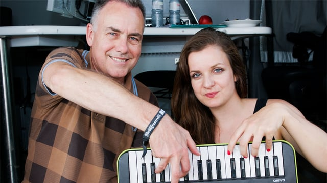 Matthias Erb und Jacqueline Visentin