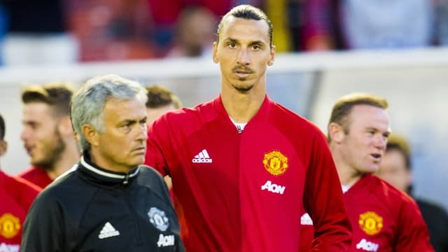 Coach Mourinho möchte Stürmer Ibrahimovic gerne behalten.