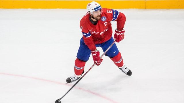 Jonas Holos war an der WM Norwegens Captain.