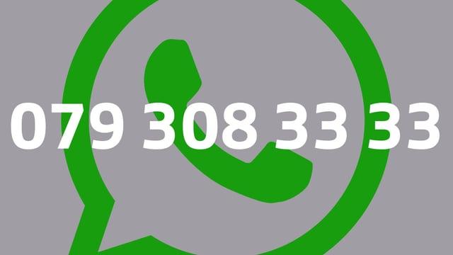 Per Whatsapp erreichst du SRF 3 unter 079 308 33 33.