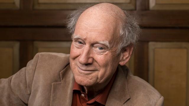 Franz Hohler im Porträt.