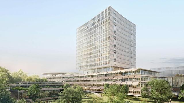 Visualisierung Neubau Unispital Basel