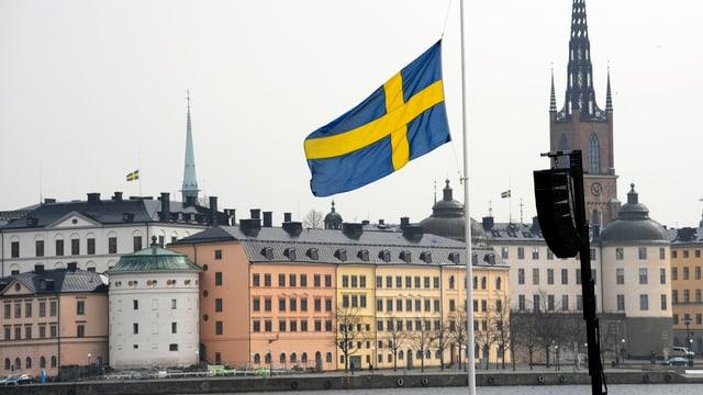 vista sin la citad da Stockholm