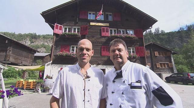 Video «Kanton Wallis – Tag 3 – Restaurant Z'Matt, Bitsch» abspielen
