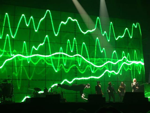 Yello live im Berliner Kraftwerk.