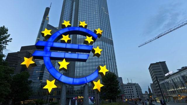 EZB Hauptgebäude in Frankfurt