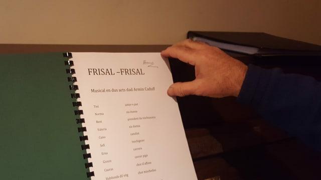 Las producziuns dal musical Frisal-Frisal a Danis-Tavanasa: