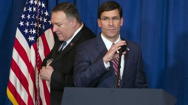 Mark Esper, il minister da defensiun american.