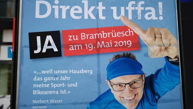 Norbert Waser sin in placat