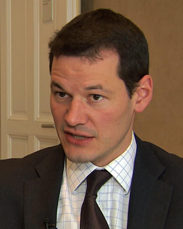 Porträt Pierre Maudet.