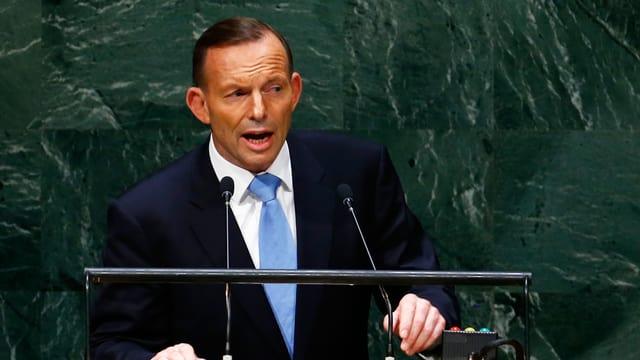 Australiens Premierminister Tony Abbott