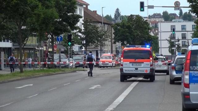 auto da polizia e via serrada