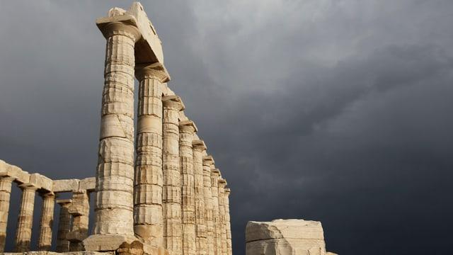 Tempel des Poseidon.