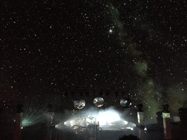 Binkbeats auf der Bühne