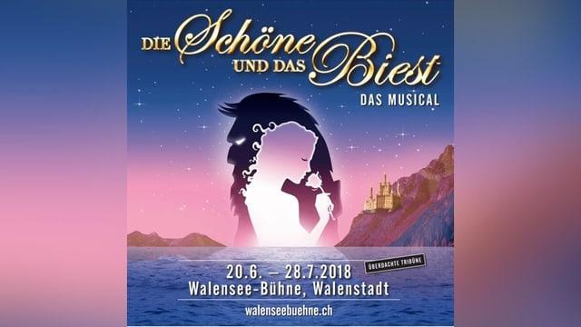 Placat dal musical «Die Schöne und das Biest».