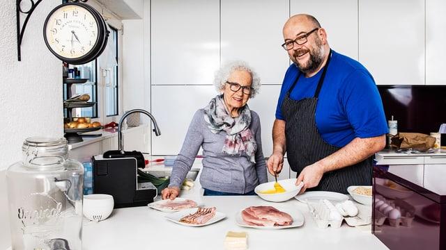 Video ««Männerküche»: Start der 5. Staffel mit Mischa Sutter» abspielen
