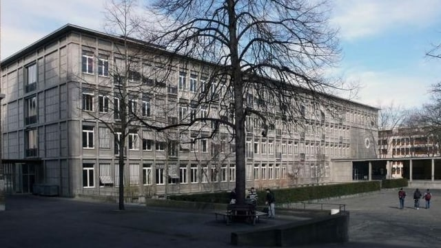 Gymnasium Kirschgarten und Pausenplatz