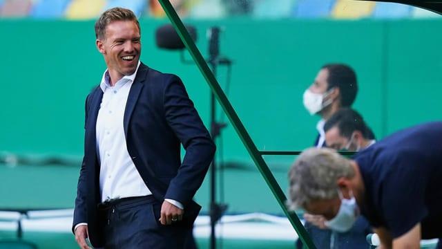 Julian Nagelsmann steht mit Leipzig vor dem grössten Spiel der Klub-Historie.