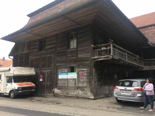 Ein altes Haus.