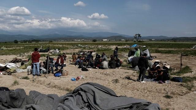 Fugitivs en la Grezia