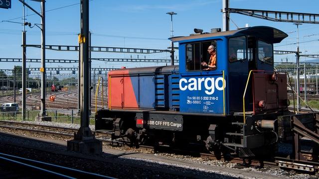 locomotiva da diesel da la SBB Cargo